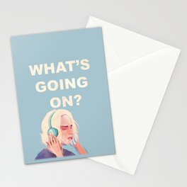 What's Going On? Stationery Cards