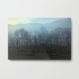 Modified Morning Mist Metal Print