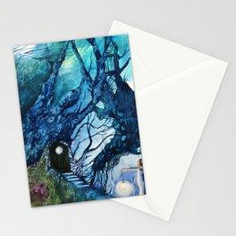 La porta de la nit Stationery Cards