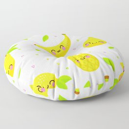 smile fruits Floor Pillow