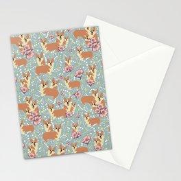 "The Pembroke Welsh Corgi Dog ""Dwarf Dog"" or Royal Corgis Stationery Cards"