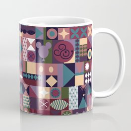 Color Queen Pattern Coffee Mug