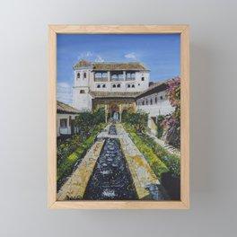 Palacio de Generalife Framed Mini Art Print