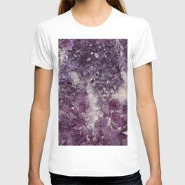 Deep Purple Quartz Crystal T-shirt