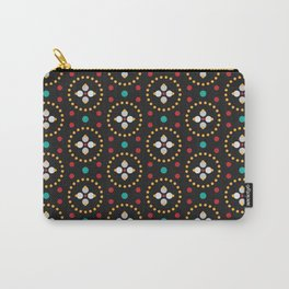 Blooming Dots Carry-All Pouch
