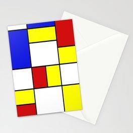 Mondrian #756 Stationery Cards
