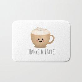 Thanks A Latte Badematte