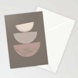 Balancing stones Stationery Cards