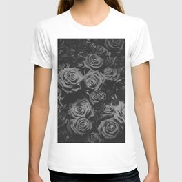 The Roses (Black and White) T-shirt