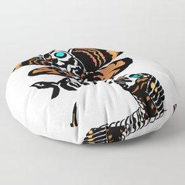 Mothra Kaiju Print Floor Pillow