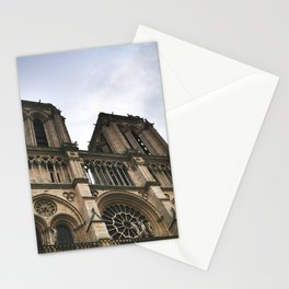 Notre Dame Towers Stationery Cards