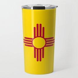 Flag of New Mexico Travel Mug