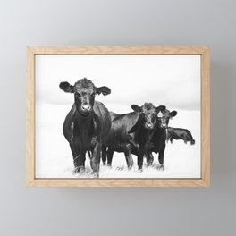 Cattle Country Photograph Framed Mini Art Print