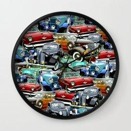Classic Cars (K.T.B.) Wall Clock