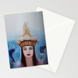 Goddess of the Great Mother Nature Stationery Cards