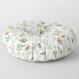 Acorn Pattern Floor Pillow