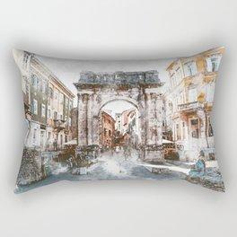 Pula, Croatia Rectangular Pillow
