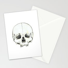 Simple Skull Stationery Cards