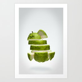 Flying Guava Art Print