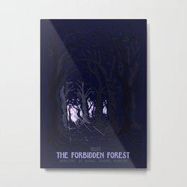Visit The Forbidden Forest Metal Print