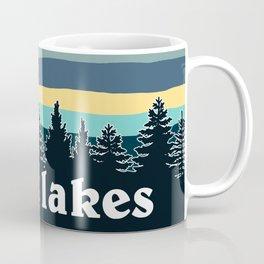 Great Lakes Tree Line Coffee Mug