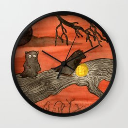 Evil Doers Wall Clock