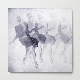 Dancing girls Metal Print