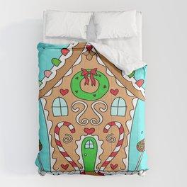 Sweet Gingerbread House Comforters