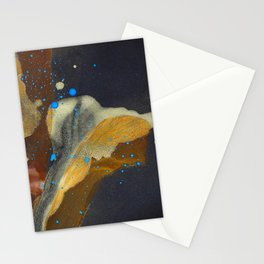 joelarmstrong_rust&gold_flower Stationery Cards