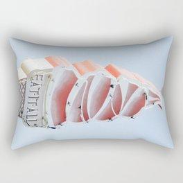 Ice cream eat neon Rectangular Pillow