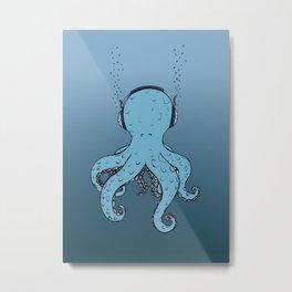 Kind of blue Metal Print