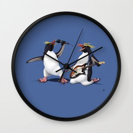 Rock (Colour) Wall Clock