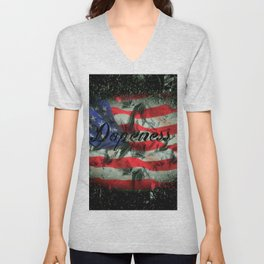 American Dopeness Unisex V-Neck