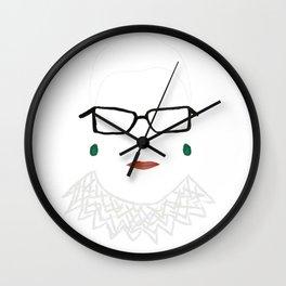 RBG Rest In Power Wall Clock