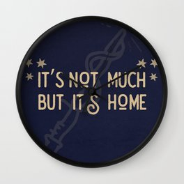 But Its Home Potter Claw Wall Clock