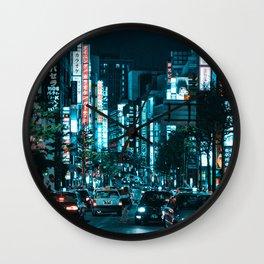 Tokyo 19 Wall Clock