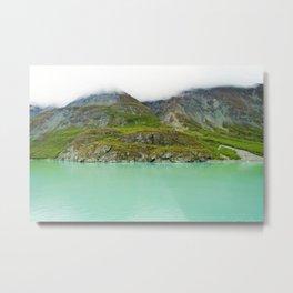 Glacier Bay Wilderness Alaska Metal Print