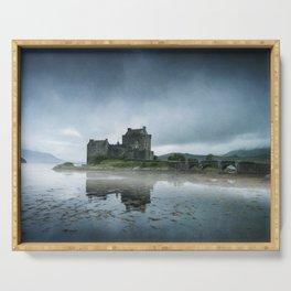 Scottish Castle Serving Tray