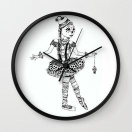 Clownerina Wall Clock