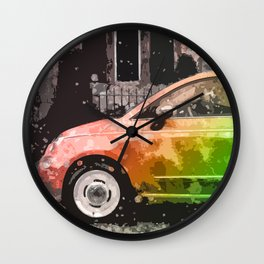 Truth of Vintage Car Wall Clock