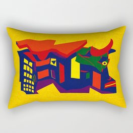 La Tauromaquia Rectangular Pillow