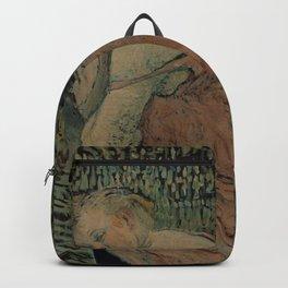 Henri de Toulouse-Lautrec - Two Friends Backpack