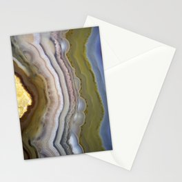 agate slice 2019 Stationery Cards