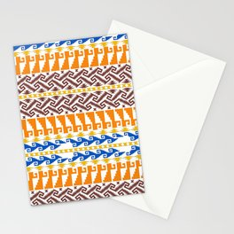 grecas de mitla Stationery Cards