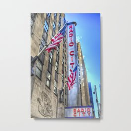 Radio City Music Hall New York Metal Print