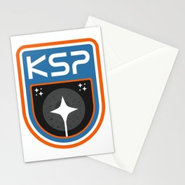 Kerbal Space Program Badge - The Mun Stationery Cards