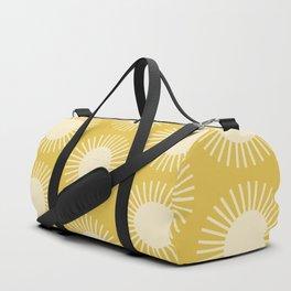 Golden Sun Pattern III Duffle Bag