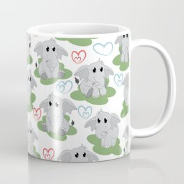 Elephant Neck Gator Elephants Coffee Mug