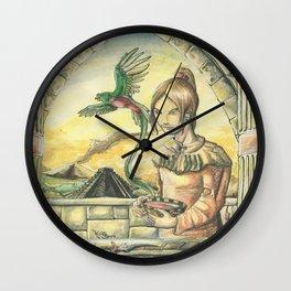 Last Rituals Wall Clock