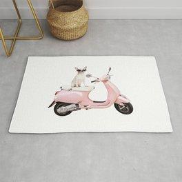 Ciao Chihuahua Pink Rug